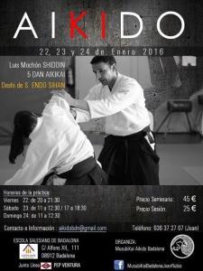 Cartell Curs d'Aikido