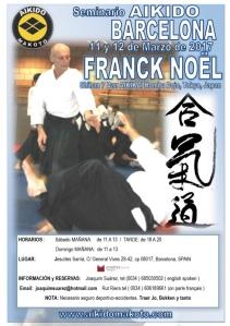 Cartell Curs d'Aikido Franck Noël