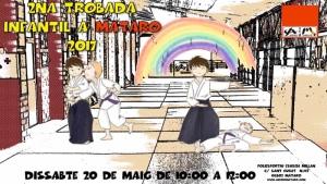 Cartell Trobada d'Aikido Infantil