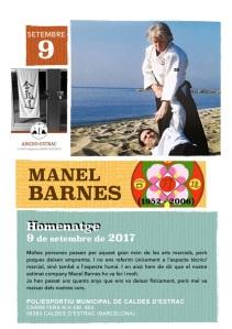 Cartell Homenatge Manel Barnes